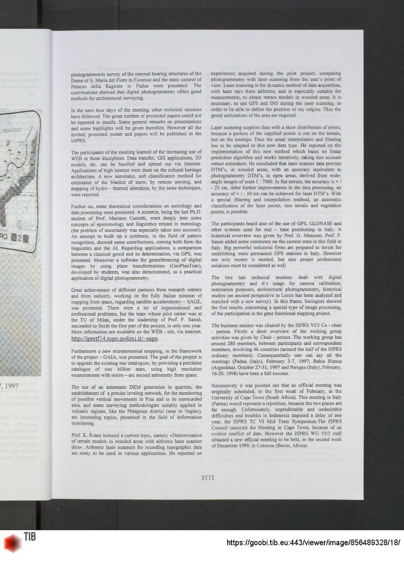current image